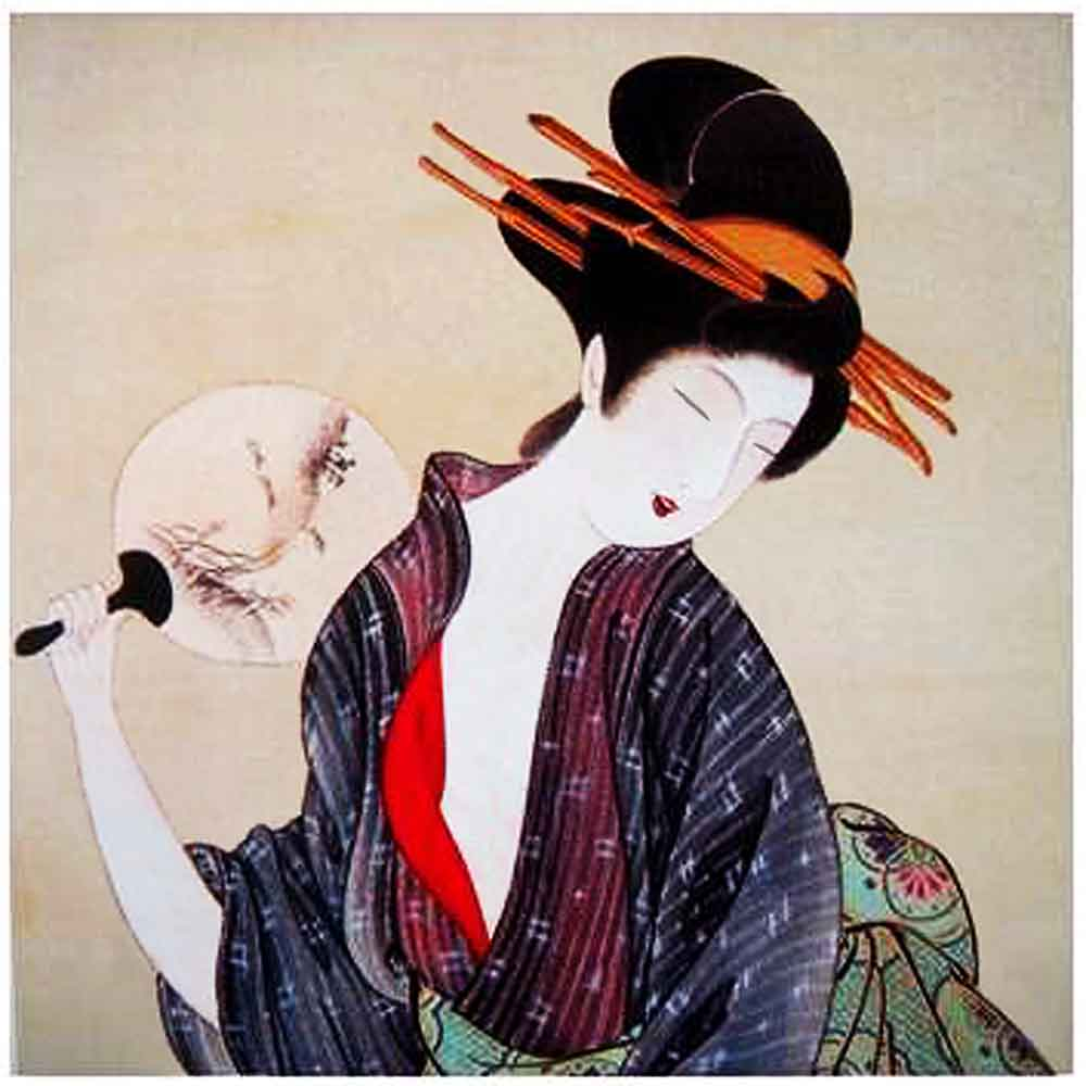 japanese-geisha-with-fan-poster-finalc12310022
